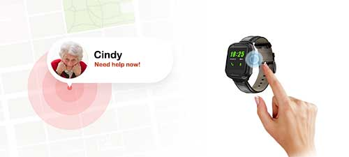 gps tracker, worker gps watch, gps tracker, elderly gps watch, alzheimer gps watch,ThinkRace