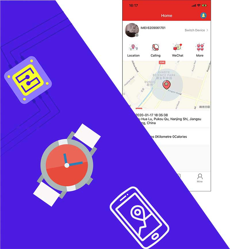 GPS Beidou smart positioning mobile app